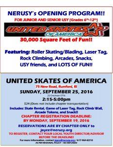 United Skates Flyer